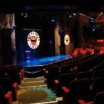 inside shot of the comedy store empty venue in manchester